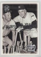 Mickey Mantle, Casey Stengel