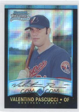 2001 Bowman Chrome - [Base] - X-Fractor #180 - Val Pascucci