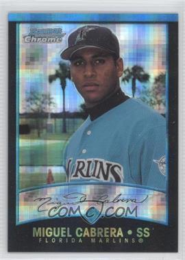 2001 Bowman Chrome - [Base] - X-Fractor #259 - Miguel Cabrera