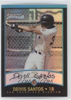 Rookie Refractors - Deivis Santos