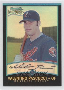 2001 Bowman Chrome - [Base] #180 - Rookie Refractors - Val Pascucci