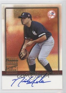 2001 Bowman Draft Picks & Prospects - Autographs #BDPA-NJ - Nick Johnson