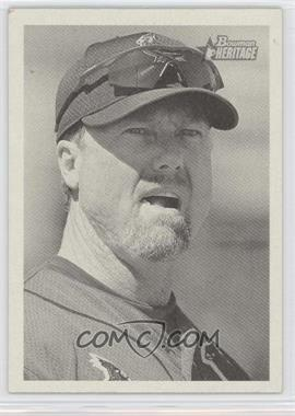 2001 Bowman Heritage - [Base] #36 - Mark McGwire