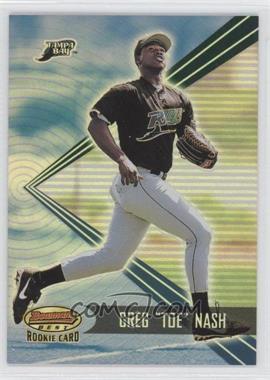 2001 Bowman's Best - [Base] #164 - Greg Nash /2999