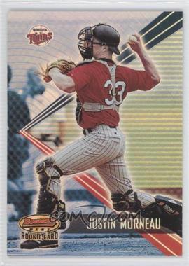 2001 Bowman's Best - [Base] #166 - Justin Morneau /2999