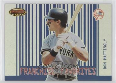 2001 Bowman's Best - Franchise Favorites #FF-DM - Don Mattingly