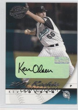 2001 Donruss Class Of 2001 - [Base] - Rookie Autograph #160 - Kevin Olsen /1875