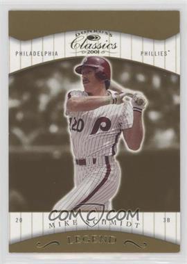 2001 Donruss Classics - [Base] #172 - Mike Schmidt /1755