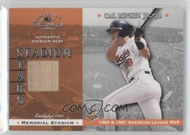 2001 Donruss Classics - Stadium Stars #SS-2 - Cal Ripken Jr.