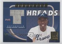 Hank Aaron, Andruw Jones /50