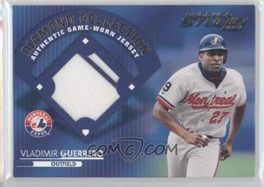 2001 Donruss Studio - Diamond Collection #DC-1 - Vladimir Guerrero