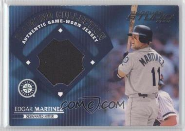 2001 Donruss Studio - Diamond Collection #DC-39 - Edgar Martinez