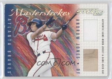 2001 Donruss Studio - Master Strokes #MS-8 - Andruw Jones /200
