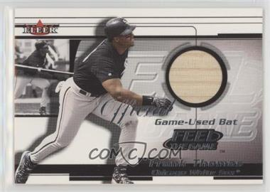 2001 Fleer Feel the Game Bats - Multi-Product Insert [Base] #FRTH - Frank Thomas