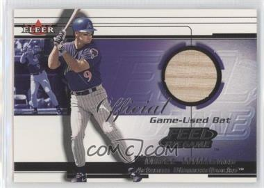 2001 Fleer Feel the Game Bats - Multi-Product Insert [Base] #MAWI - Matt Williams