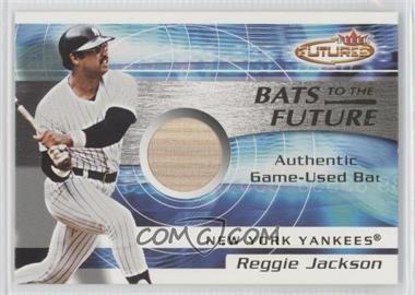 2001 Fleer Futures - Bats to the Future Bats #REJA - Reggie Jackson