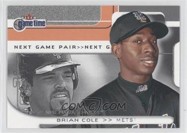 2001 Fleer Game Time - [Base] #101 - Brian Cole, Mike Piazza /2000