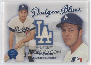 2001 Fleer Greats of the Game - Dodger Blues #WEPA - Wes Parker