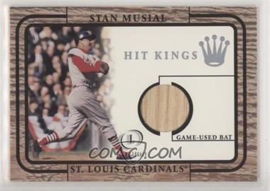 2001 Fleer Legacy - Hit Kings Game-Used Bats #STMU - Stan Musial