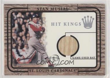 2001 Fleer Legacy - Hit Kings Game-Used Bats #STMU - Stan Musial [Noted]