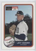 Jeff Weaver #/201