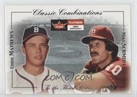 Eddie Mathews, Mike Schmidt