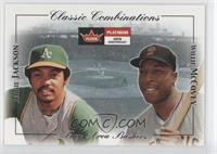 Reggie Jackson, Willie McCovey /1000
