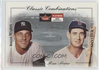 Ted Williams, Roger Maris #/1,000