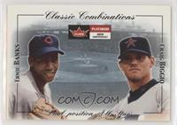 Ernie Banks, Craig Biggio [EX to NM] #/2,000