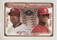Mark McGwire, Albert Pujols /2000