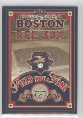 2001 Fleer Red Sox 100th - Field of the Game #N/A - Fenway Park