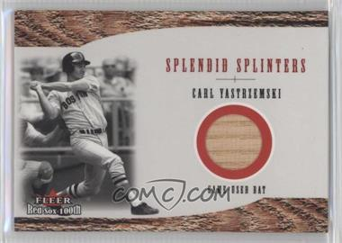 2001 Fleer Red Sox 100th - Splendid Splinters - Bats [Memorabilia] #SS4 - Carl Yastrzemski