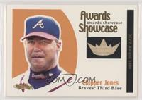 Chipper Jones #/100