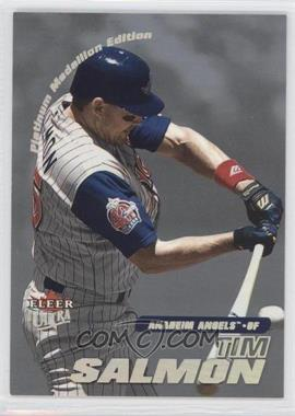 2001 Fleer Ultra - [Base] - Platinum Medallion Edition #201P - Tim Salmon /50