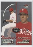 Vicente Padilla, Mark Brownson /50