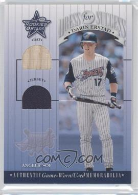 2001 Leaf Rookies & Stars - Dress For Success #DFS-23 - Darin Erstad
