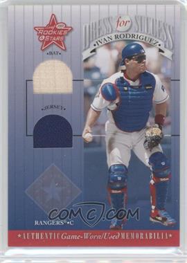 2001 Leaf Rookies & Stars - Dress For Success #DFS-9 - Ivan Rodriguez