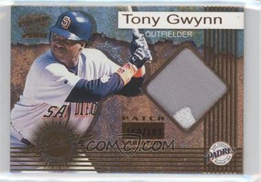 2001 Pacific - Game-Worn Jerseys - Patch #7 - Tony Gwynn /183