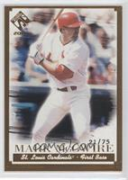 Mark McGwire /75