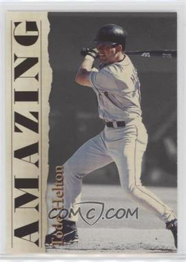 2001 Royal Rookies Throwbacks - Amazing - Limited Edition #A4 - Todd Helton