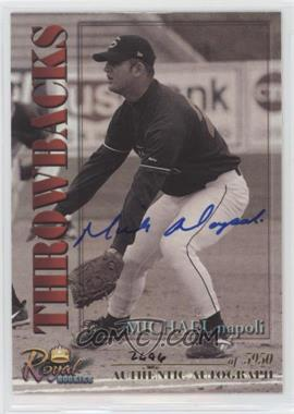 2001 Royal Rookies Throwbacks - [Base] - Autographs [Autographed] #28 - Michael Napoli /5950