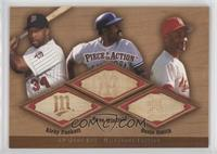 Kirby Puckett, Ozzie Smith, Dave Winfield