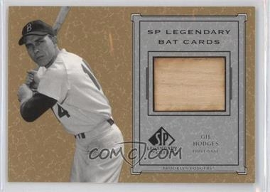 2001 SP Legendary Cuts - Legendary Bats #B-GH - Gil Hodges