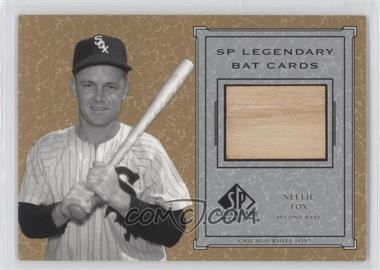 2001 SP Legendary Cuts - Legendary Bats #B-NF - Nellie Fox