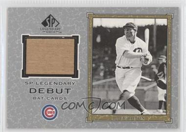2001 SP Legendary Cuts - Legendary Debut Bats #D-HW - Hack Wilson