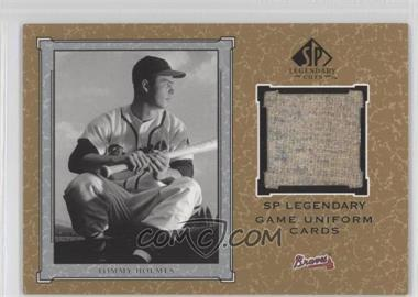 2001 SP Legendary Cuts - Legendary Game Uniform #J-THO - Tommy Holmes