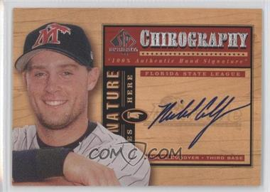 2001 SP Top Prospects - Chirography #MC - Michael Cuddyer