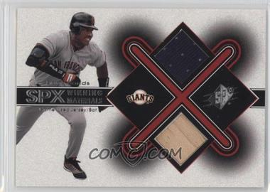 2001 SPx - Winning Materials #BB1 - Barry Bonds