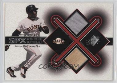 2001 SPx - Winning Materials #BB2 - Barry Bonds