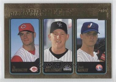 2001 Topps - [Base] - Gold #365 - Ty Howington, Josh Kalinowski, Josh Girdley /2001